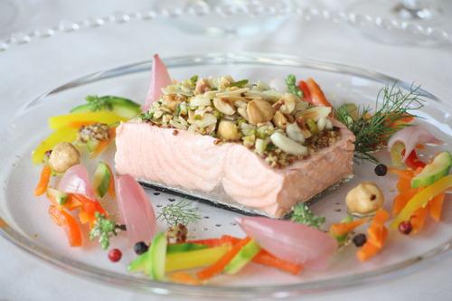 menu nuziale pesce
