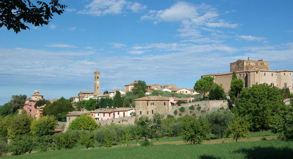 panorama-Santarcangelo