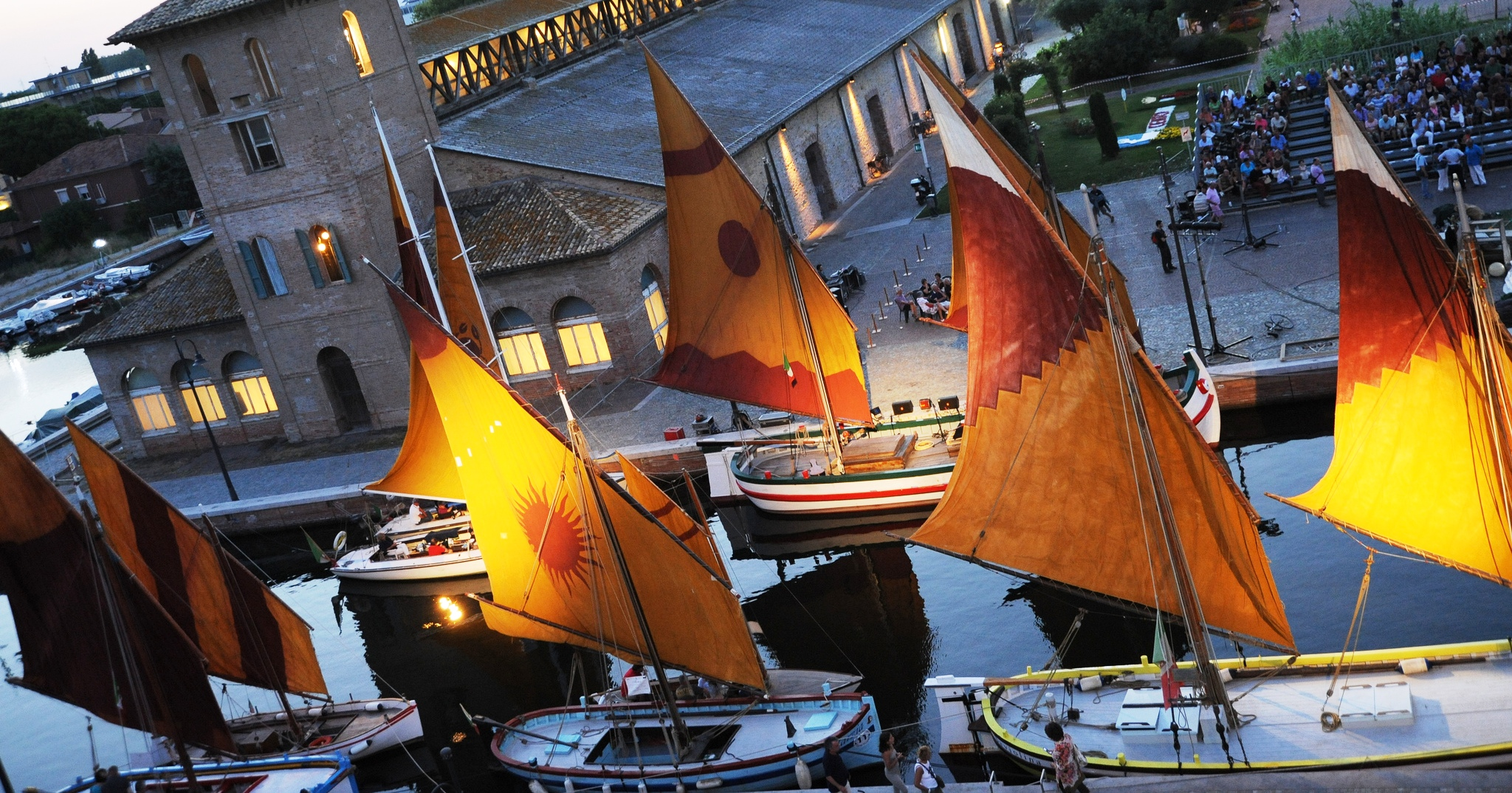 3 Porto canale di Cervia e barche