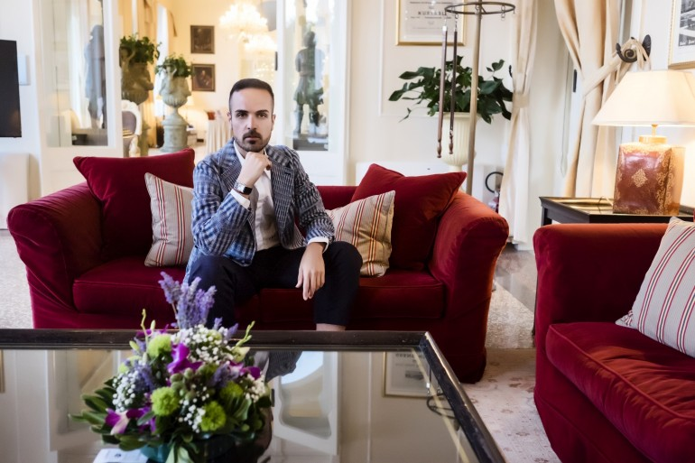 Interview with Edoardo Alaimo, fashion blogger and guest at the